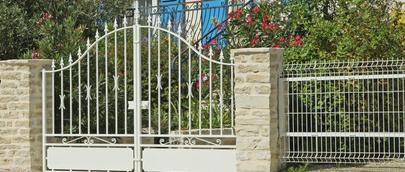 portail mtallique